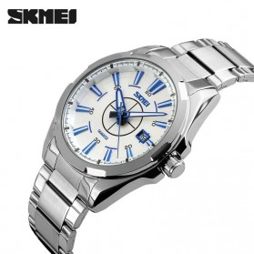 SKMEI Jam Tangan Analog - 9118CS - Silver Blue - 2