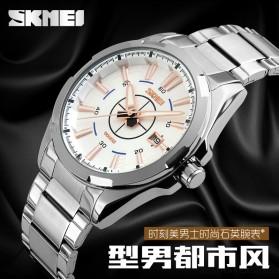 SKMEI Jam Tangan Analog - 9118CS - Silver Black - 4