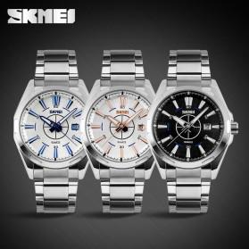 SKMEI Jam Tangan Analog - 9118CS - Silver Black - 6