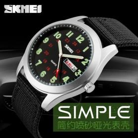 SKMEI Jam Tangan Analog Pria - 9112C - Green - 5