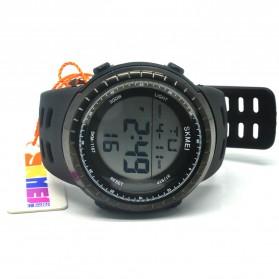 SKMEI Jam Tangan Digital Pria - 1167 - Black/Black - 4