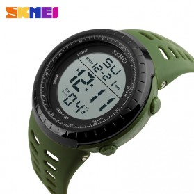 SKMEI Jam Tangan Digital Pria - 1167 - Army Green