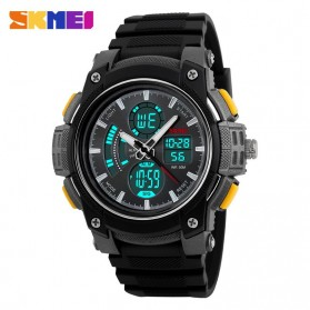 SKMEI Jam Tangan Analog Digital Pria - AD1192 - Black/Yellow