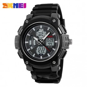 SKMEI Jam Tangan Analog Digital Pria - AD1192 - Black White