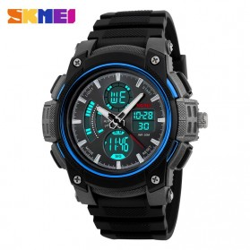 SKMEI Jam Tangan Analog Digital Pria - AD1192 - Black Blue