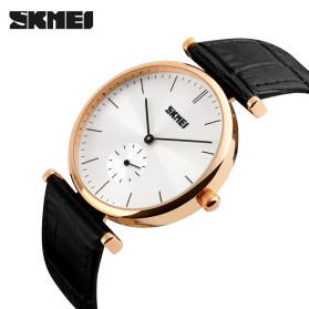 SKMEI Jam Tangan Analog Pria - 1175CL - Black Gold