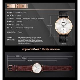 SKMEI Jam Tangan Analog Pria - 1175CL - Black Gold - 5