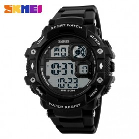 SKMEI Jam Tangan Digital Pria - DG1118 - Black White