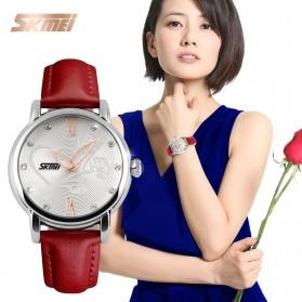 SKMEI Jam Tangan Analog Wanita - 9095CL - Red - 3