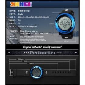 SKMEI Jam Tangan Sport Digital Pria - DG1172 - Silver - 5