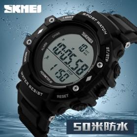 SKMEI Jam Tangan Digital Pria - DG1128S - Black - 2