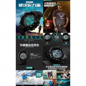 SKMEI Jam Tangan Digital Pria - DG1128S - Black - 5