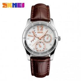 SKMEI Jam Tangan Analog Wanita - 6911CL - Coffee