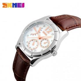 SKMEI Jam Tangan Analog Wanita - 6911CL - Coffee - 2