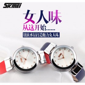 SKMEI Jam Tangan Analog Wanita - 9086CL - White - 6