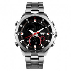 SKMEI Jam Tangan Analog Digital Pria - AD1146 - Black
