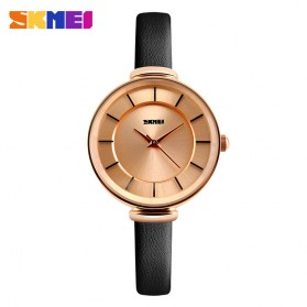 SKMEI Jam Tangan Analog Wanita - 1184CL - Black Gold