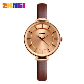 SKMEI Jam Tangan Analog Wanita - 1184CL - Brown/Gold