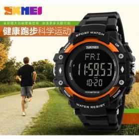 SKMEI Jam Tangan Olahraga Pedometer Heart Rate - DG1180S - Black - 3