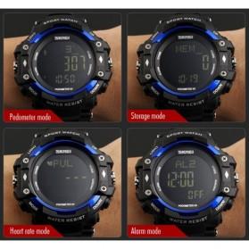 SKMEI Jam Tangan Olahraga Pedometer Heart Rate - DG1180S - Black - 4