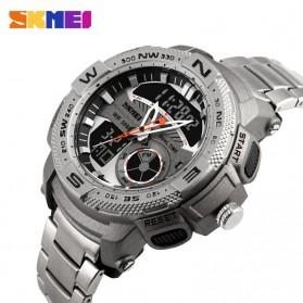SKMEI Jam Tangan Analog Digital Pria - AD1121 - Silver - 3