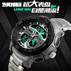 SKMEI Jam Tangan Analog Digital Pria - AD1121 - Silver - 8