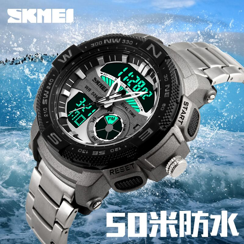 ... Skmei Men Sport Led Watch Water Resistant 50m Ad1146 Daftar Source SKMEI Jam Tangan Analog Digital