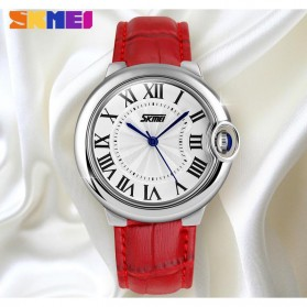 SKMEI Jam Tangan Analog Wanita - 9088CL - Red - 3