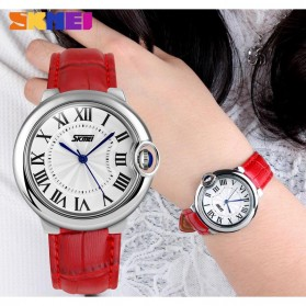 SKMEI Jam Tangan Analog Wanita - 9088CL - Red - 4