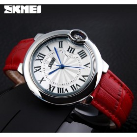 SKMEI Jam Tangan Analog Wanita - 9088CL - Red - 5