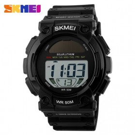 SKMEI Casio Men Sport LED Watch Water Resistant 50m - DG1126 - Black