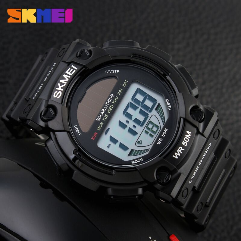 ... Water Resist 50m Dg1113 Black White. skmei jam tangan digital pria dg1126 black