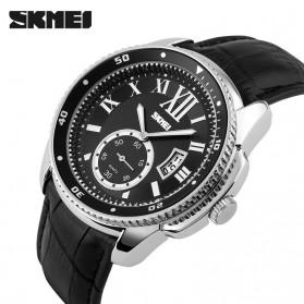 SKMEI Jam Tangan Analog Pria - 1135CL - Silver Black - 2