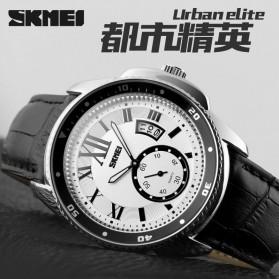 SKMEI Jam Tangan Analog Pria - 1135CL - Silver Black - 6