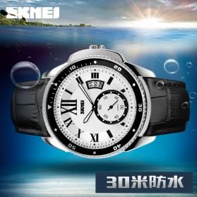 SKMEI Jam Tangan Analog Pria - 1135CL - Silver Black - 7