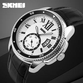 SKMEI Jam Tangan Analog Pria - 1135CL - Silver Black - 8