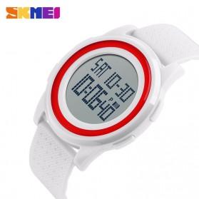 SKMEI Jam Tangan Digital Pria - DG1206 - White - 3