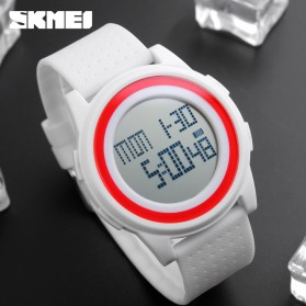 SKMEI Jam Tangan Digital Pria - DG1206 - White - 8
