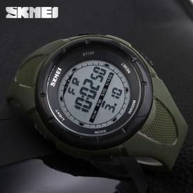 SKMEI Jam Tangan Sport Digital Wanita - DG1074 - Army Green - 5