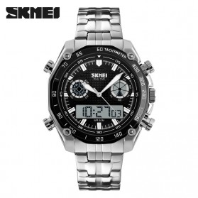 SKMEI Jam Tangan Analog Digital Pria - AD1204 - Black