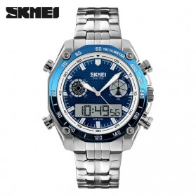 SKMEI Jam Tangan Analog Digital Pria - AD1204 - Blue