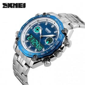 SKMEI Jam Tangan Analog Digital Pria - AD1204 - Blue - 4