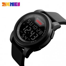 SKMEI Jam Tangan Trendy Digital Pria - DG1218 - Black - 4