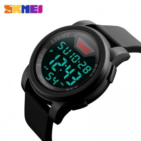 SKMEI Jam Tangan Trendy Digital Pria - DG1218 - Black - 5