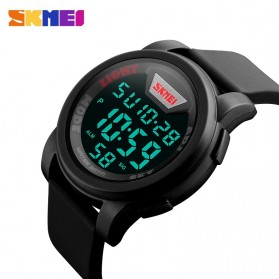 SKMEI Jam Tangan Trendy Digital Pria - DG1218 - Black - 7