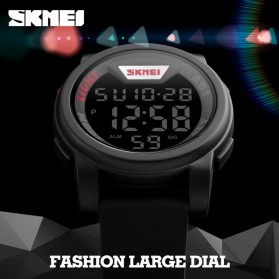 SKMEI Jam Tangan Trendy Digital Pria - DG1218 - Black - 9