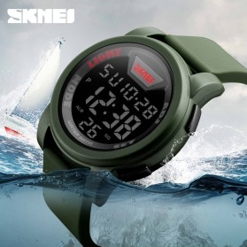 SKMEI Jam Tangan Trendy Digital Pria - DG1218 - Black - 10