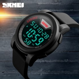SKMEI Jam Tangan Trendy Digital Pria - DG1218 - Black - 11
