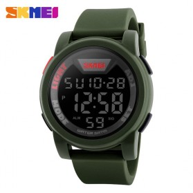SKMEI Jam Tangan Trendy Digital Pria - DG1218 - Army Green