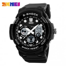SKMEI Jam Tangan Analog Digital Pria - AD1205 - Black